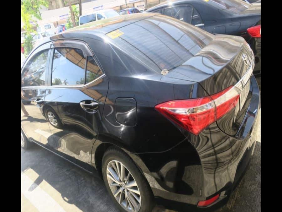 2015 Toyota Corolla Altis G - Rear View