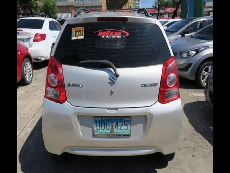 2012 Suzuki Celerio - Rear View