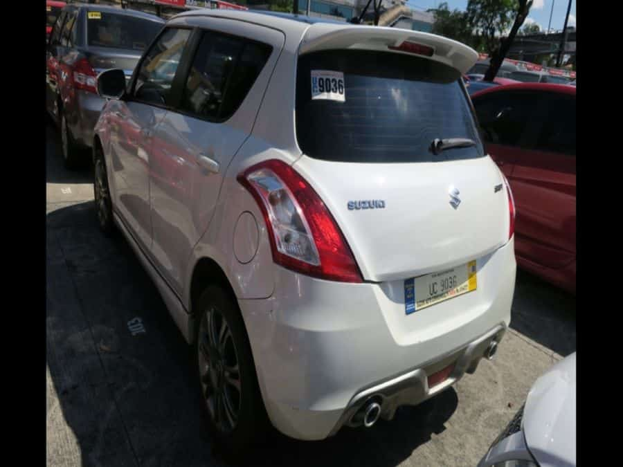 2015 Suzuki Swift - Rear View