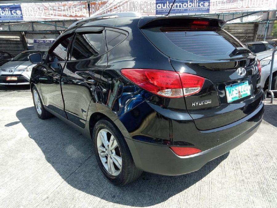 2010 Hyundai Tucson - Rear View