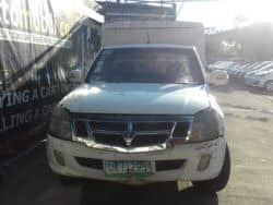2012 Foton Blizzard - Front View