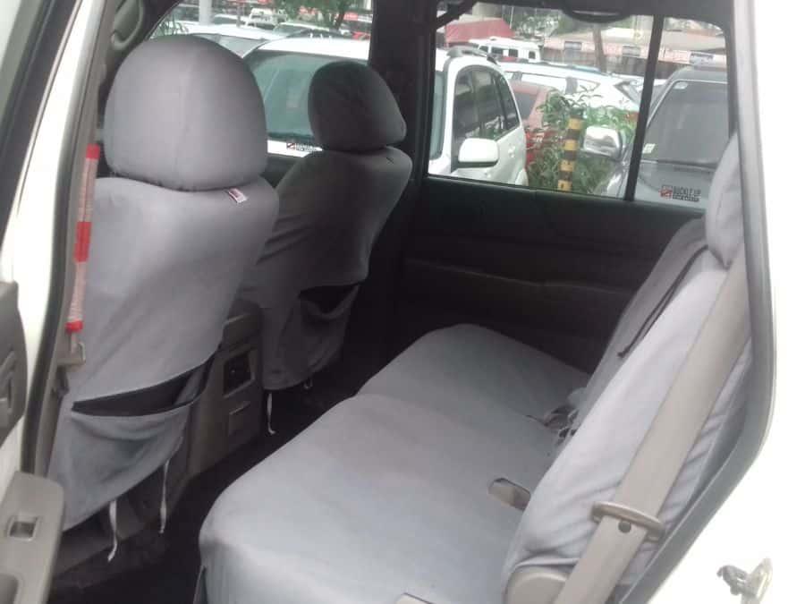 2002 Nissan Patrol - Interior Rear View
