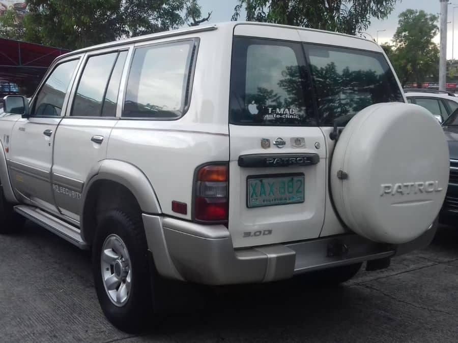2002 Nissan Patrol - Rear View