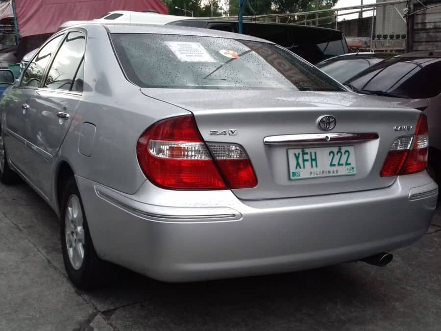 2002 Toyota Camry - Rear View