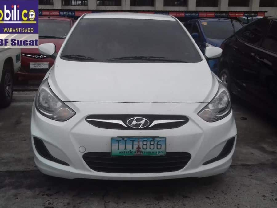 2012 Hyundai Accent - Front View