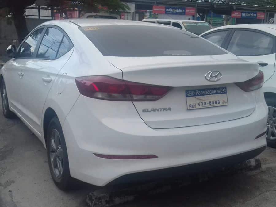 2016 Hyundai Elantra - Rear View