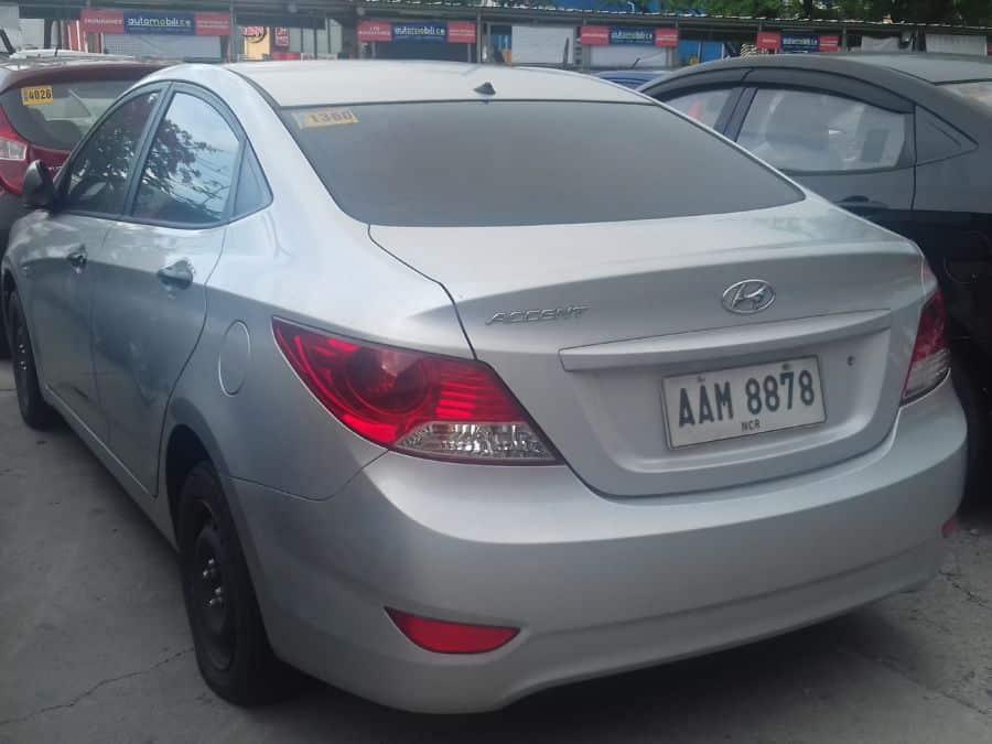 2014 Hyundai Accent - Left View