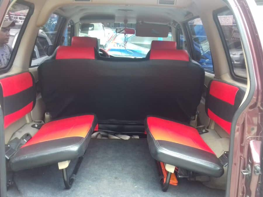 2015 Isuzu Crosswind - Interior Rear View