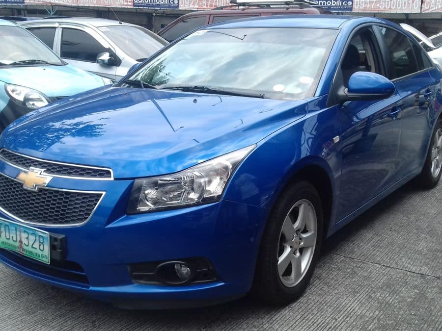 2012 Chevrolet Cruze - Left View