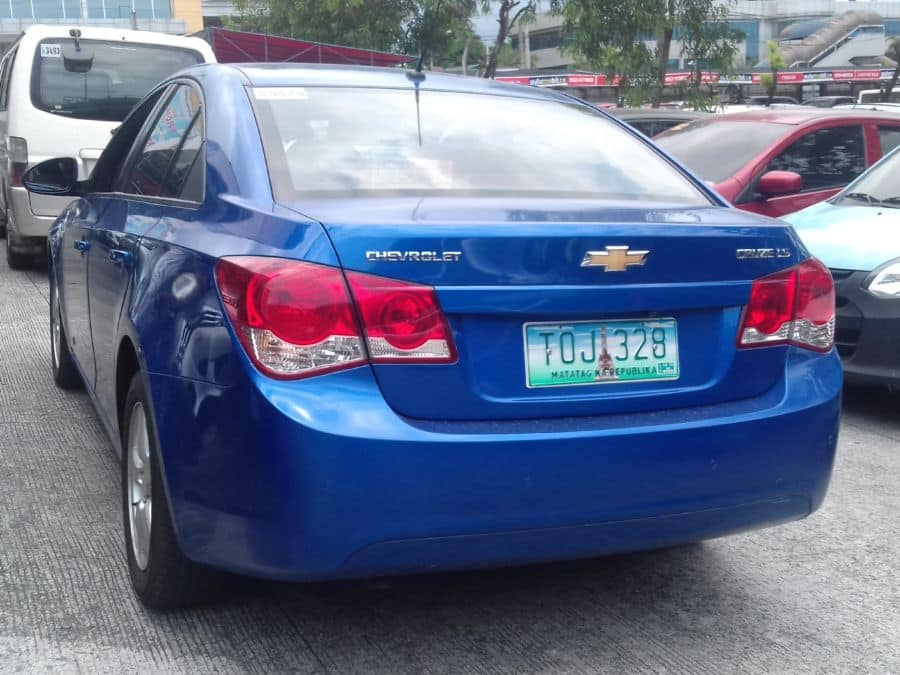 2012 Chevrolet Cruze - Rear View