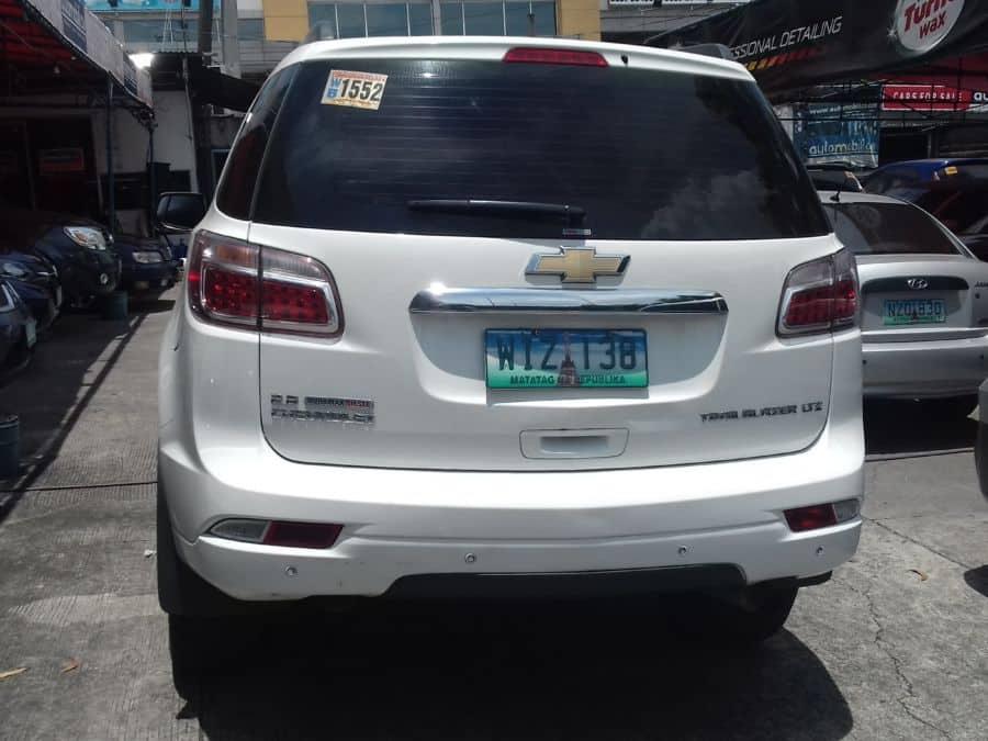 2013 Chevrolet Trailblazer - Rear View