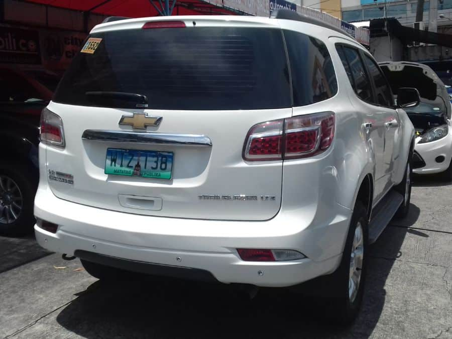 2013 Chevrolet Trailblazer - Interior Front View