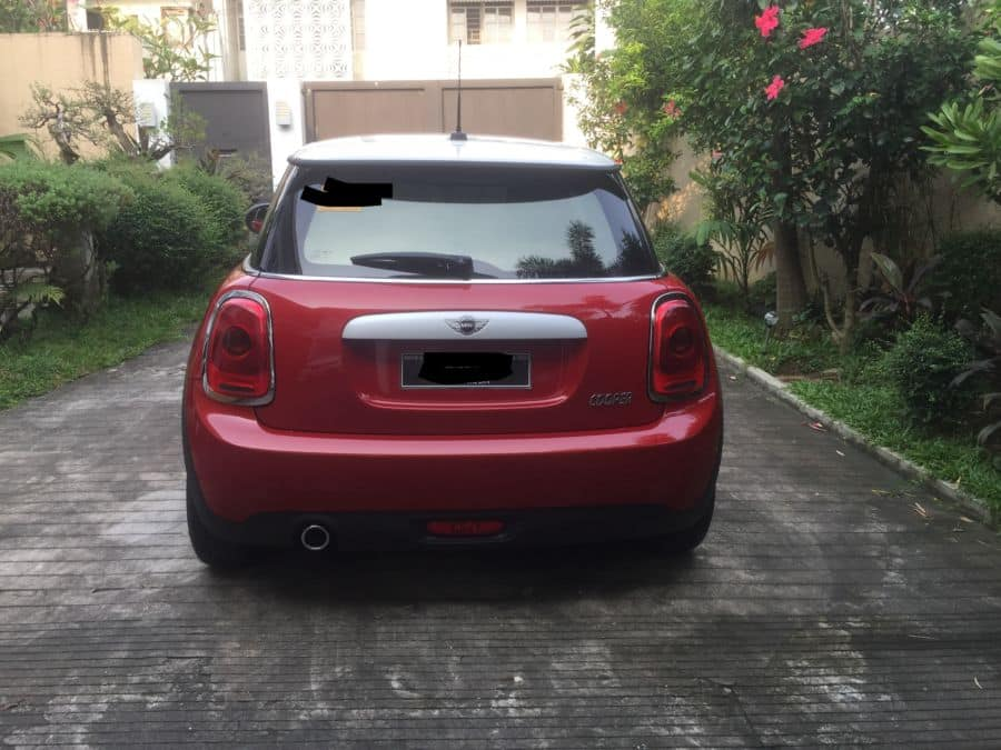 2016 Mini Cooper - Rear View