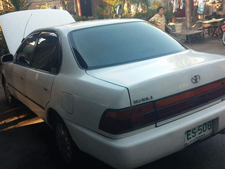 1993 Toyota Corolla - Rear View