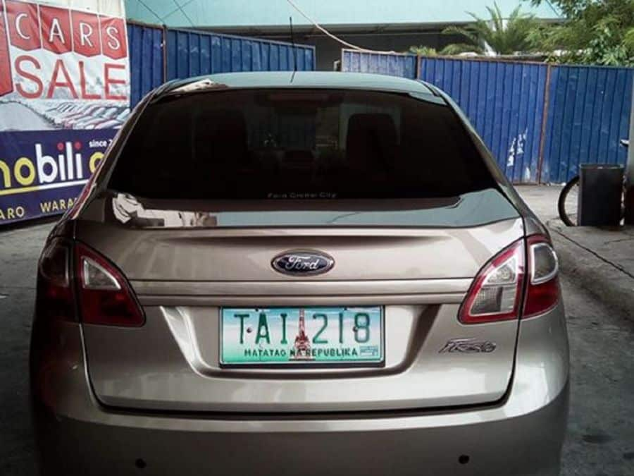 2011 Ford Fiesta - Rear View