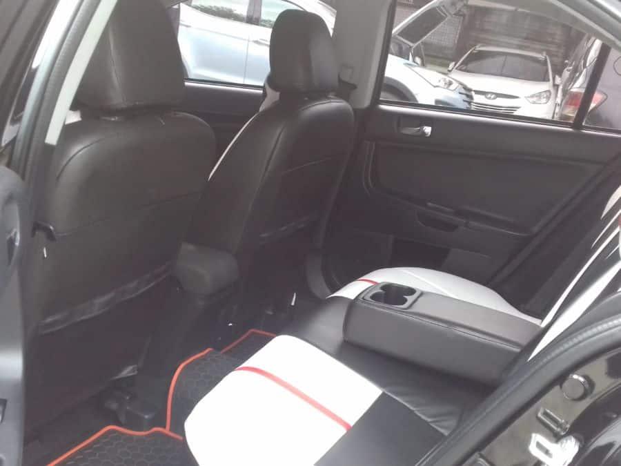 2015 Mitsubishi Lancer Ex - Interior Rear View