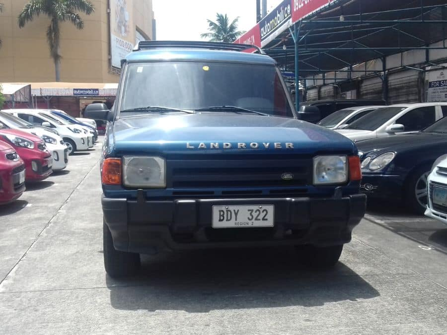 1991 Land Rover Discovery - Front View