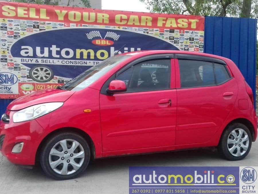 2011 Hyundai i10 - Left View