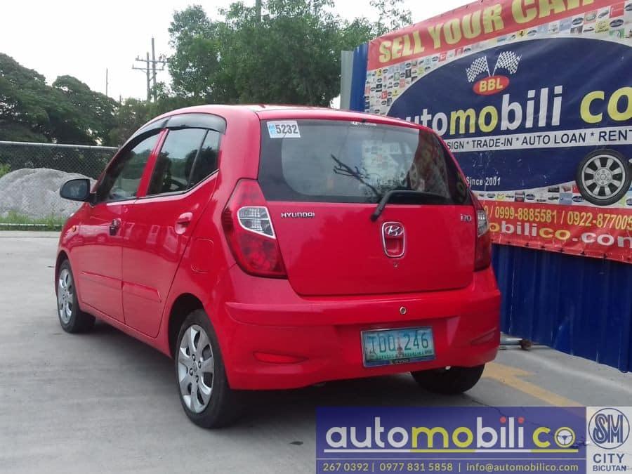 2011 Hyundai i10 - Rear View