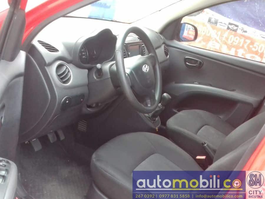 2011 Hyundai i10 - Interior Rear View
