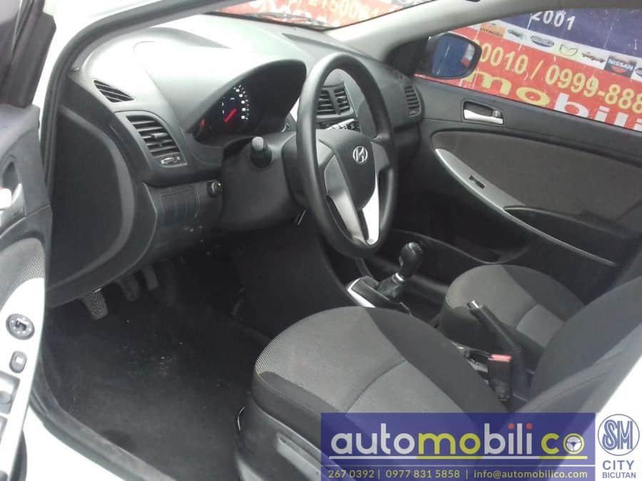 2012 Hyundai Accent - Interior Rear View