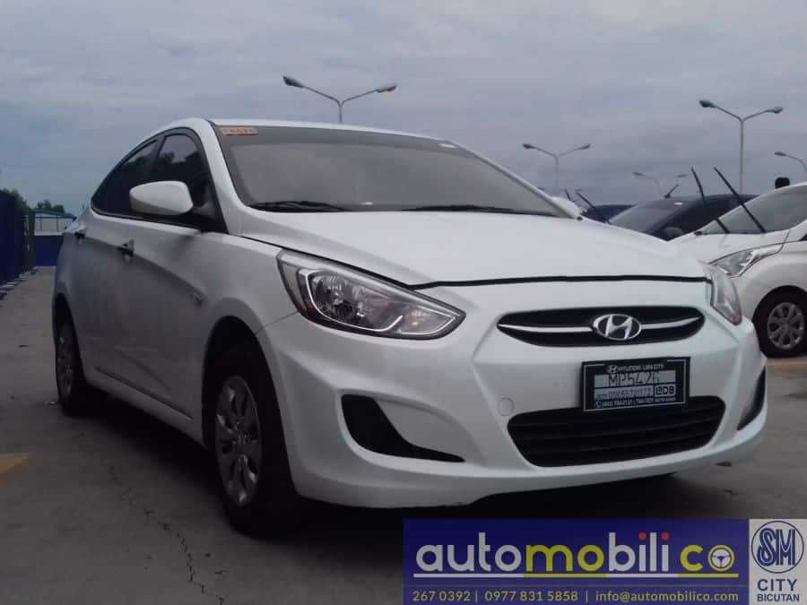 2016 Hyundai Accent - Left View