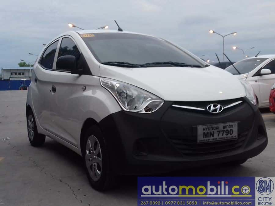 2015 Hyundai Eon - Left View