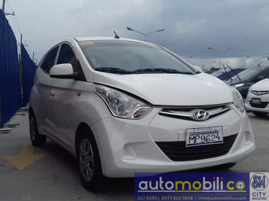 2016 Hyundai Eon - Front View