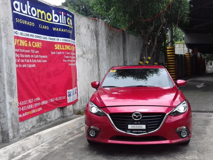 2016 Mazda 3 - Front View