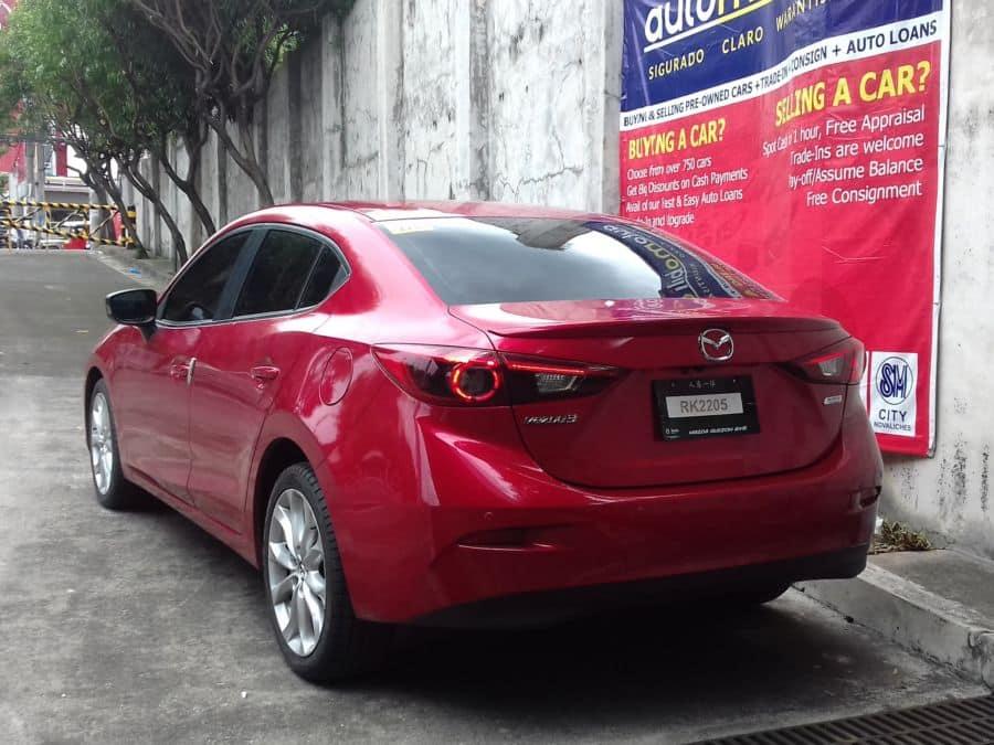 2016 Mazda 3 - Rear View