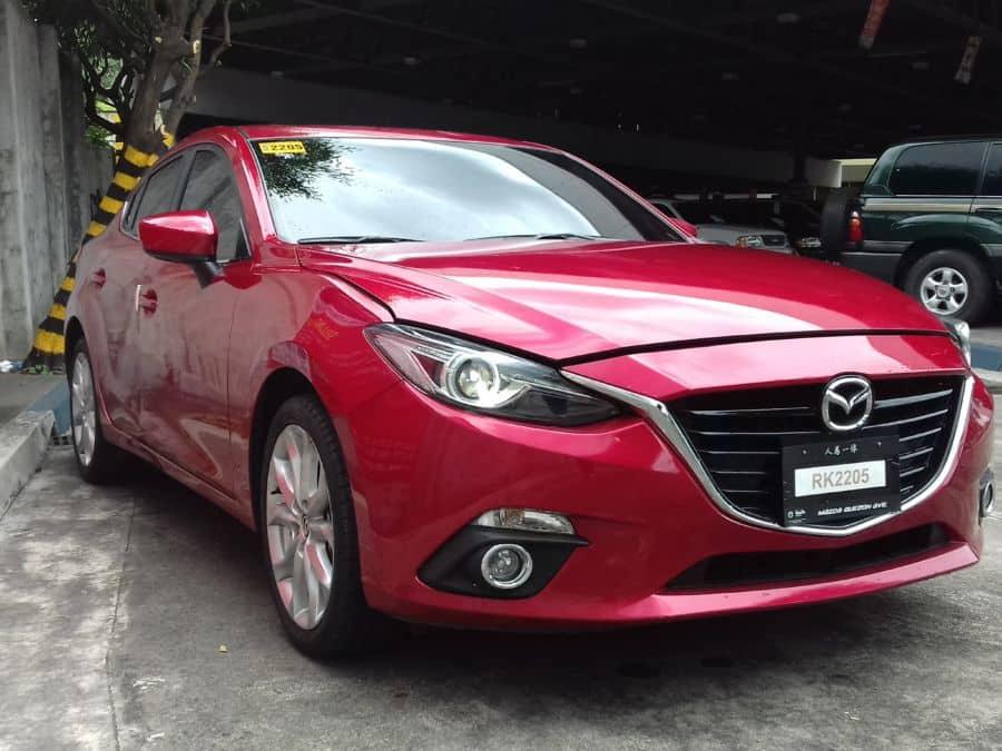 2016 Mazda 3 - Interior Rear View