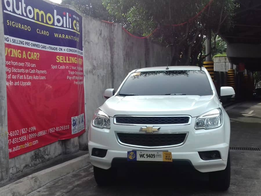 2016 Chevrolet Trailblazer - Front View