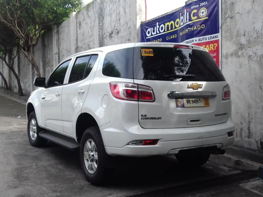 2016 Chevrolet Trailblazer - Rear View