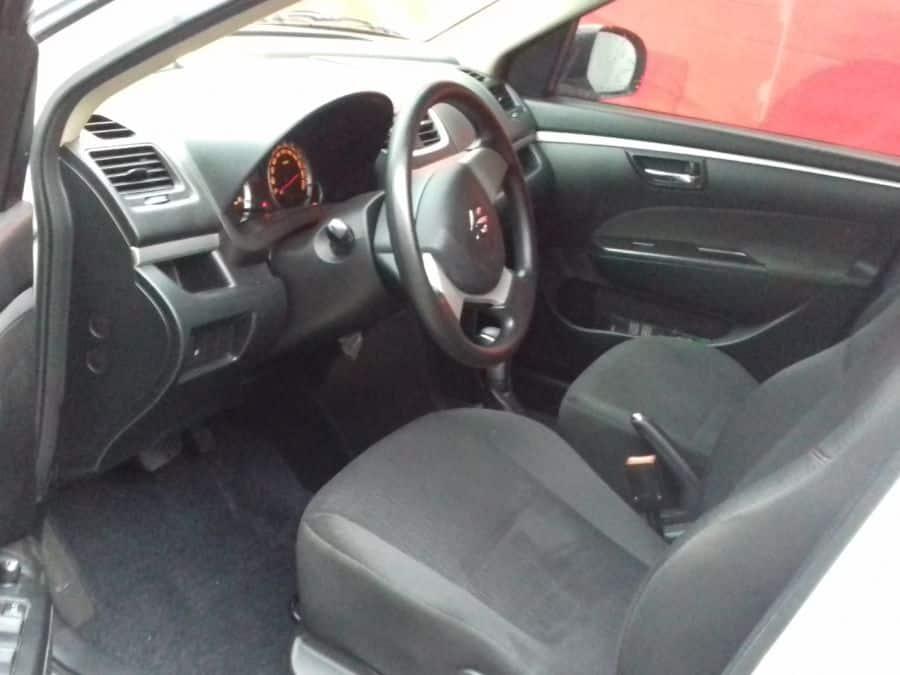 2016 Suzuki Swift Dzire - Interior Rear View
