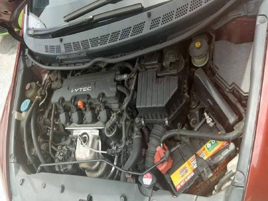 2008 Honda Civic - Interior Rear View