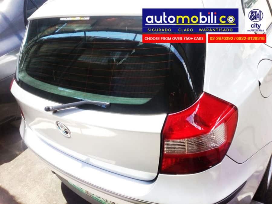 2007 BMW 118i - Rear View