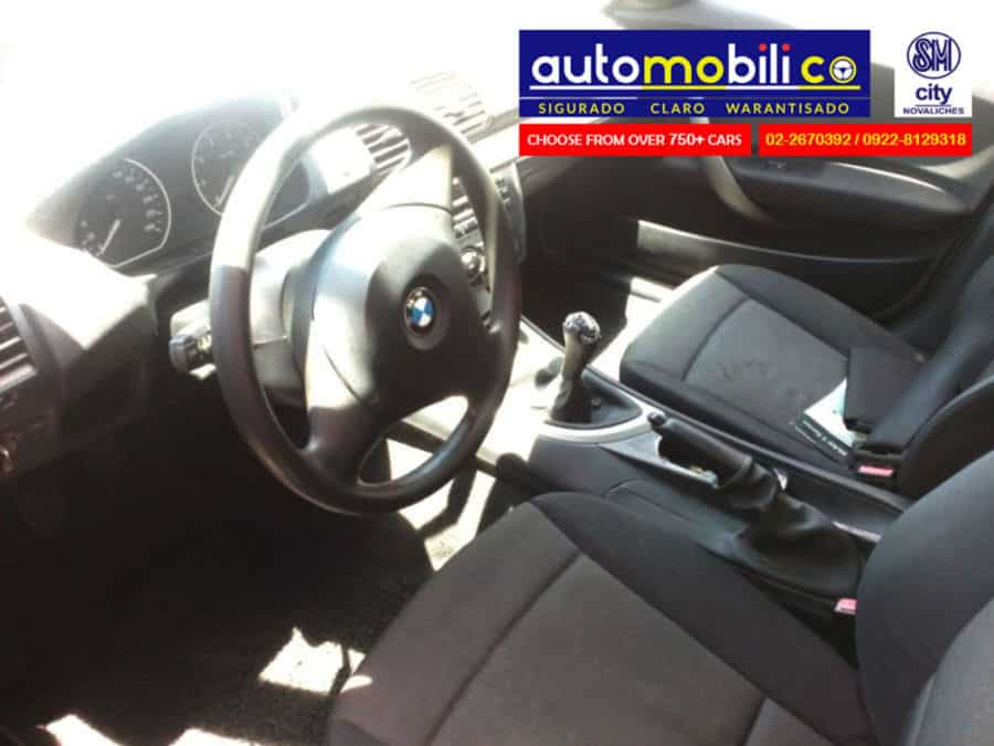 2007 BMW 118i - Interior Front View