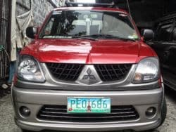 2010 Mitsubishi Adventure - Front View