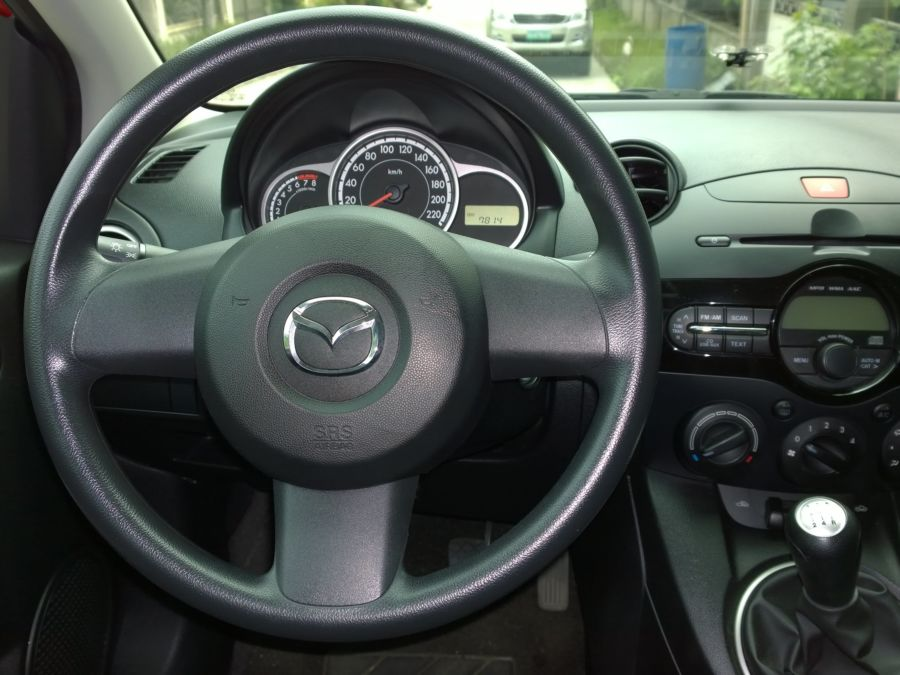 2015 Mazda 2 - Interior Front View