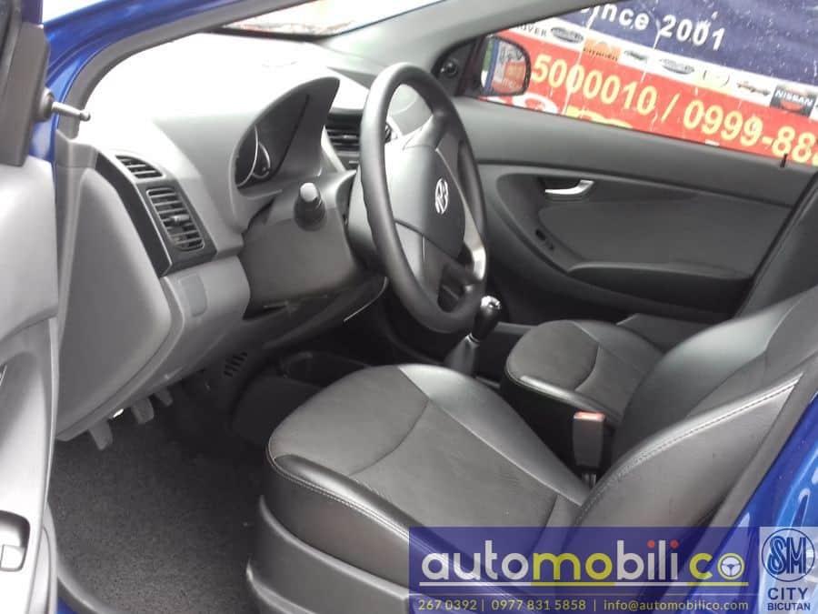2016 Hyundai Eon - Interior Rear View