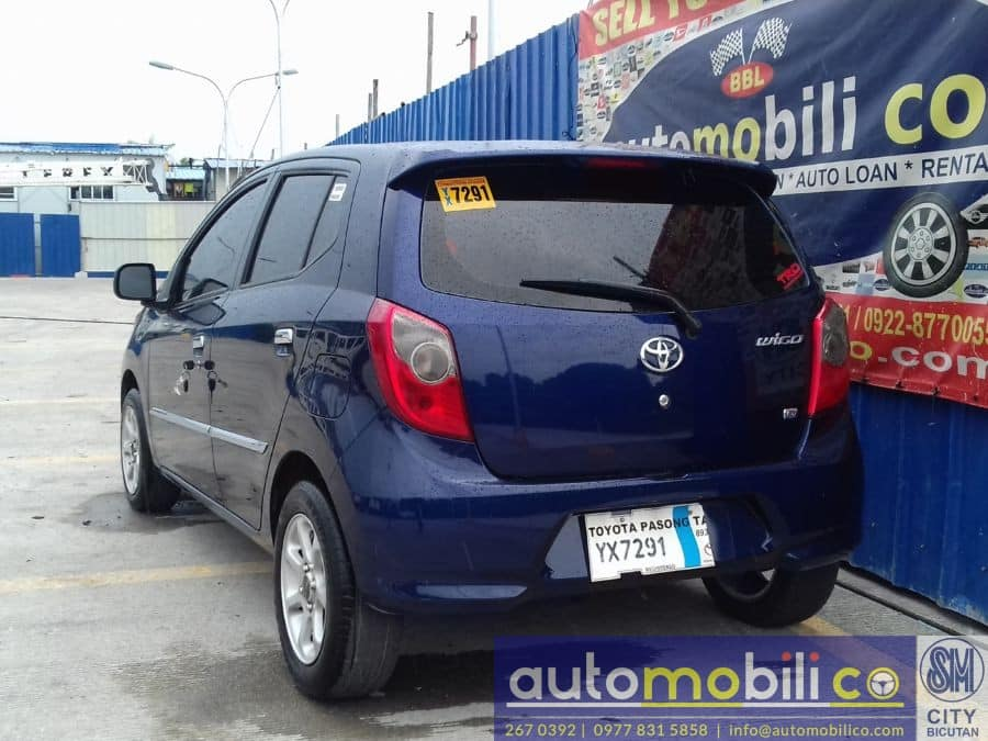 2016 Toyota Wigo - Rear View
