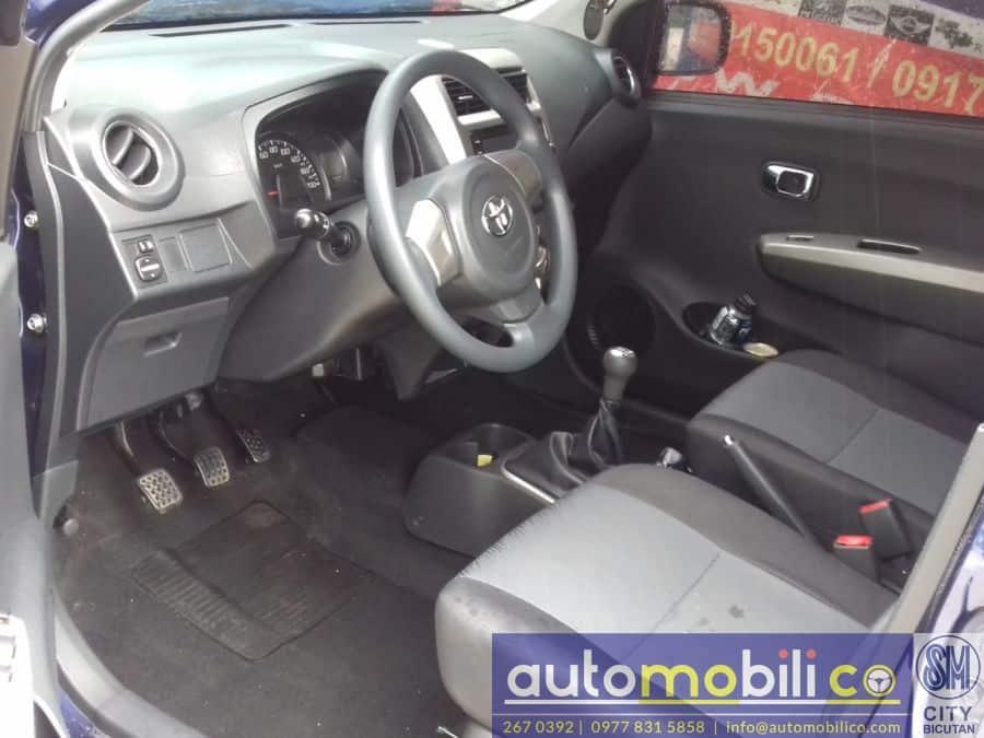 2016 Toyota Wigo - Interior Rear View