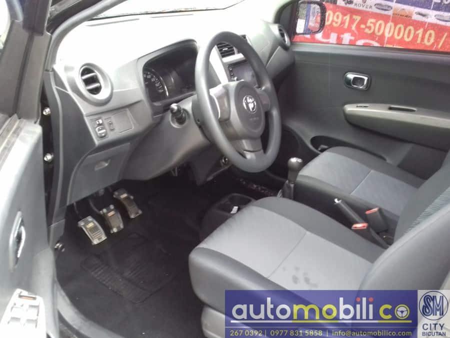 2015 Toyota Wigo - Interior Rear View
