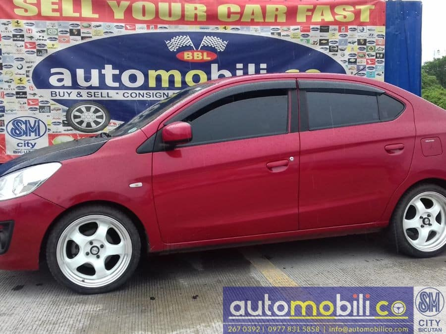 2014 Mitsubishi Mirage G4 - Right View