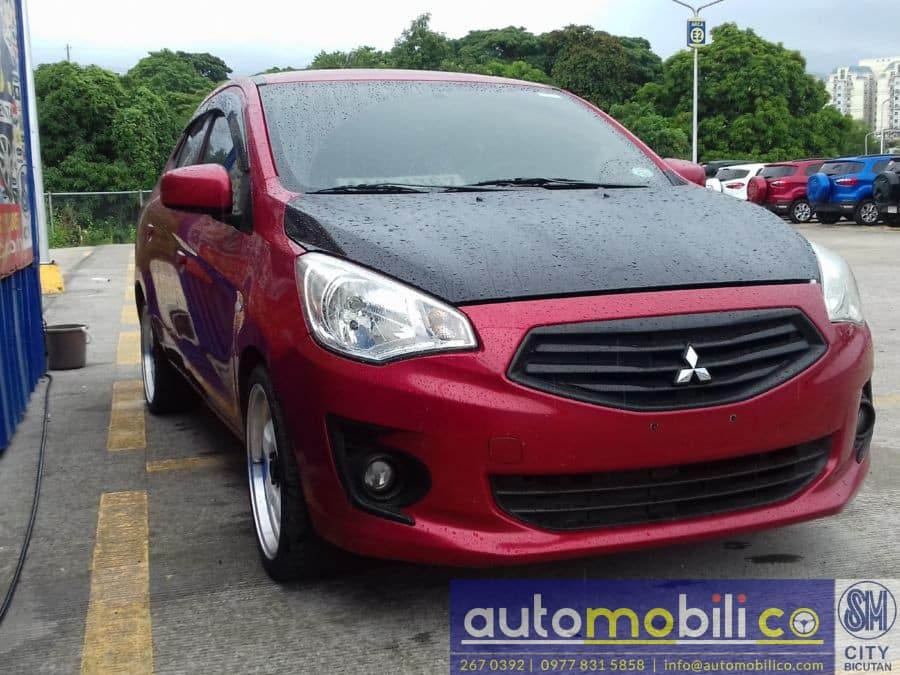 2014 Mitsubishi Mirage G4 - Left View