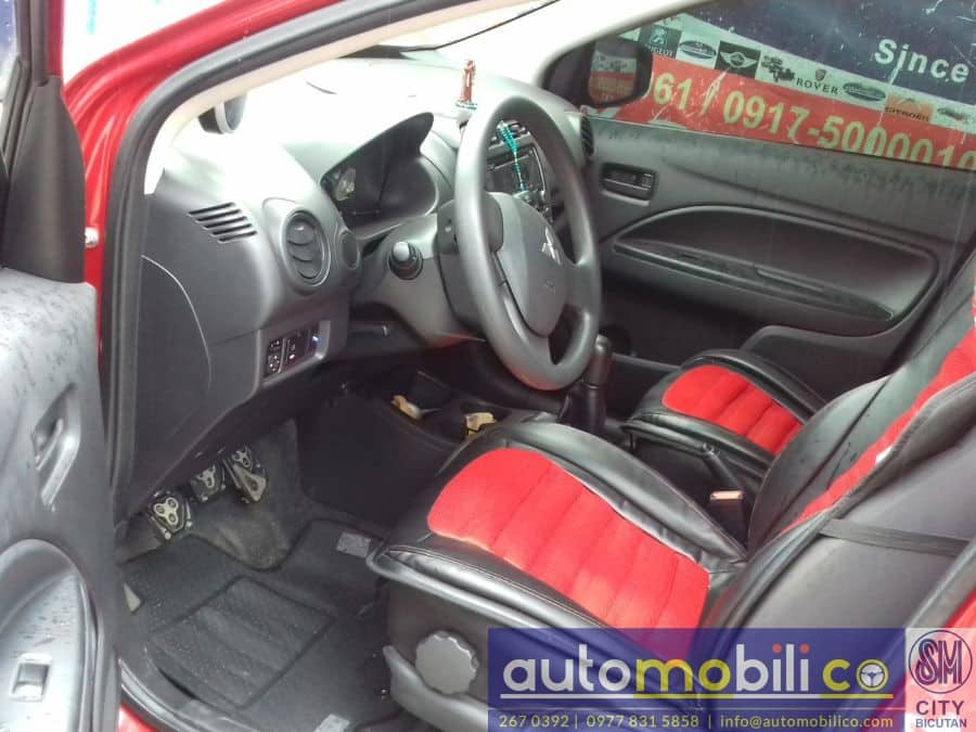 2014 Mitsubishi Mirage G4 - Interior Rear View