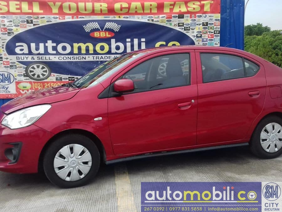 2015 Mitsubishi Mirage G4 - Right View