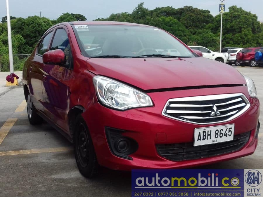 2015 Mitsubishi Mirage G4 - Left View
