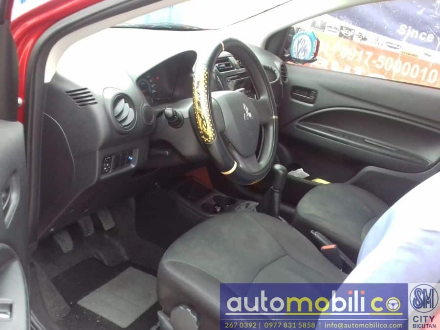 2015 Mitsubishi Mirage G4 - Interior Rear View