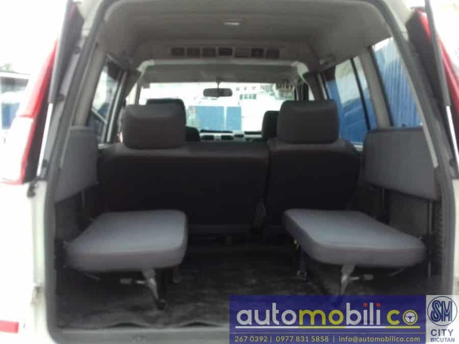 2014 Mitsubishi Adventure - Interior Rear View